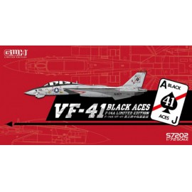 "Great Wall Hobby 1:72 US Navy F-14A VF-41 ""Black Aces"" /w special PE & Decal"