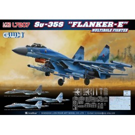 "Great Wall Hobby 1:72 Su-35S ""Flanker E"" Multirole Fighter"