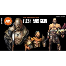 Acrylics 3rd generation Flesh and skin colors (The original selection)