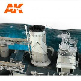 AK Interactive Elastic rigging bobbin mega-thin (Suitable for 1:700 and smaller scales)