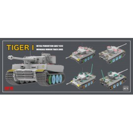 Ryefield model 1:35 Tiger I 100# initial production early 1943
