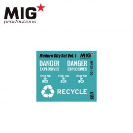MIG Productions 1:35 Modern City Set Vol.1